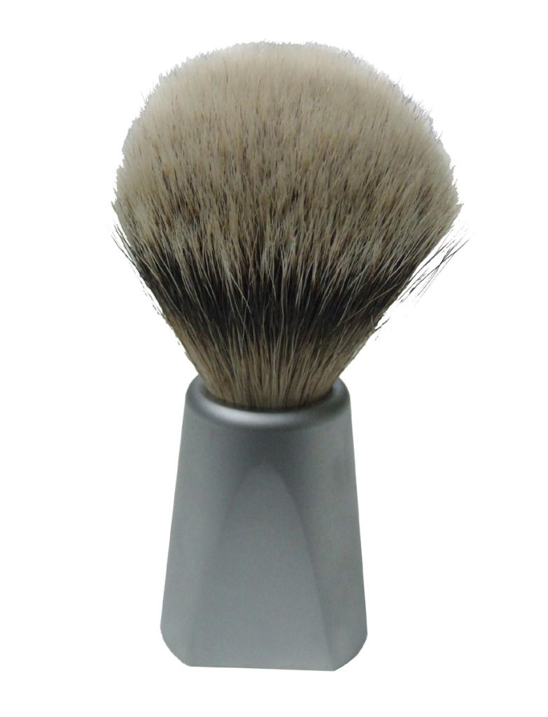 BPM 65178 Dovo Badger Brush Chrome