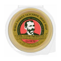 Colonel Conk Bay Rum Shave Soap