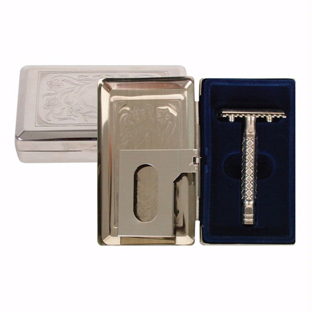 Comoy 64265 Safety Razor with Case