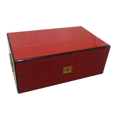 Davidoff 22730 Red Maple Humidor 75 ct