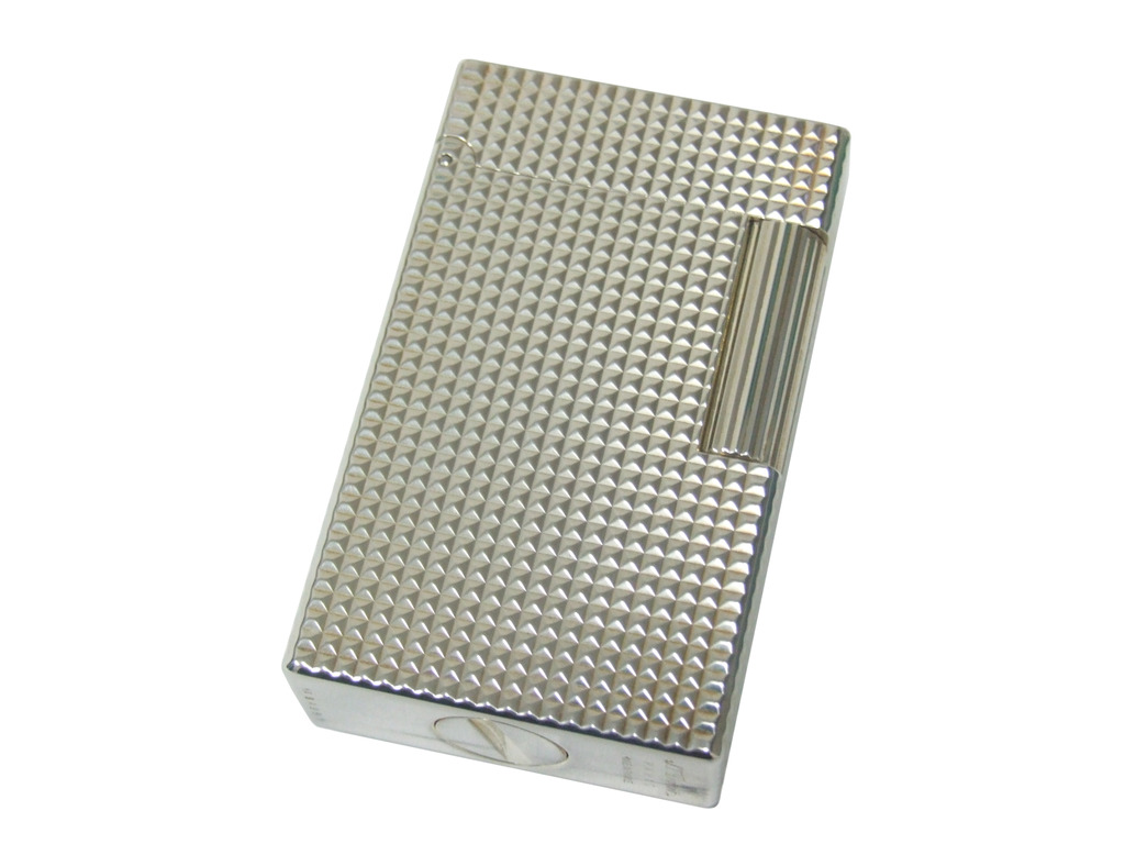 S.T. Dupont 14110 L1 Silver Plated Diamond