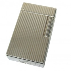 S.T. Dupont 14126 Silver Plated Vertical Lighter