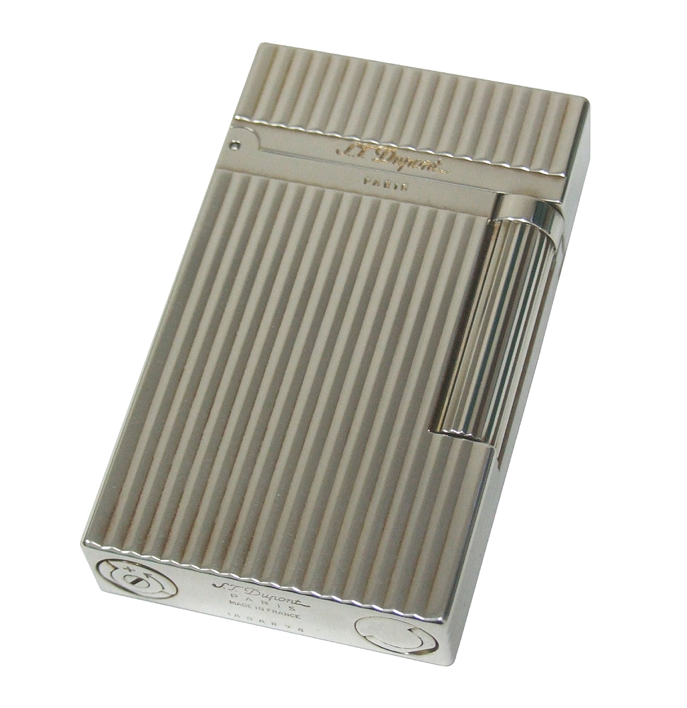 S.T. Dupont 16817 L2 Silver Plated Vertical