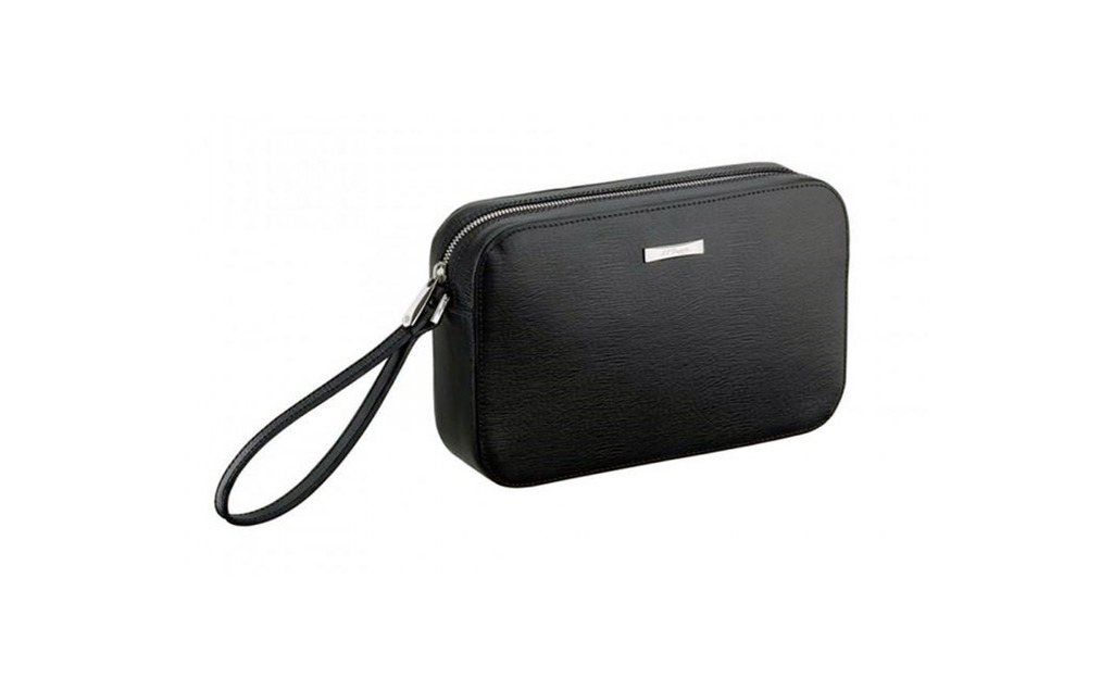 S.T. Dupont 181307 LineD Clutch Bag Black