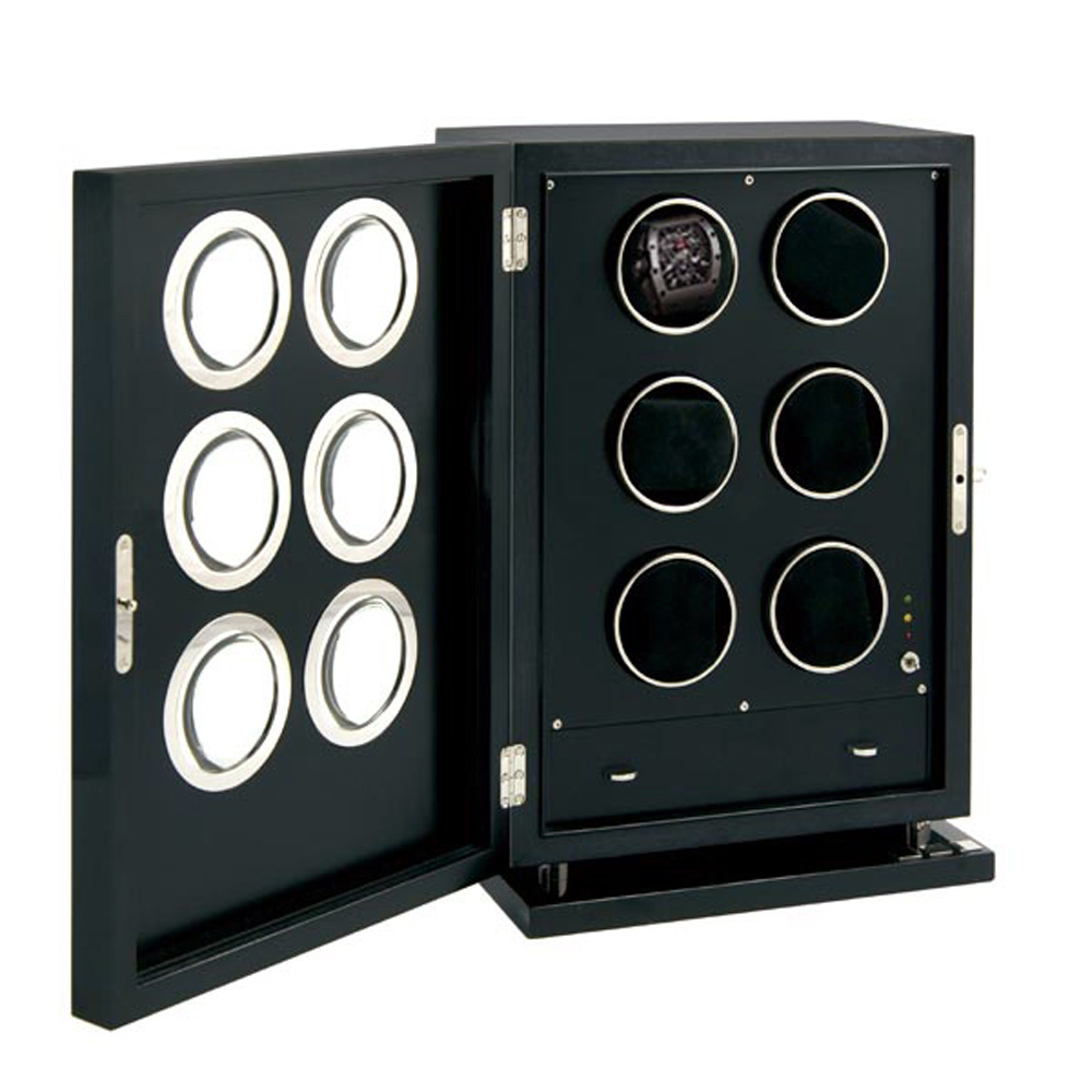 "Elie Bleu ""Fruit"" Black Watch Winder"