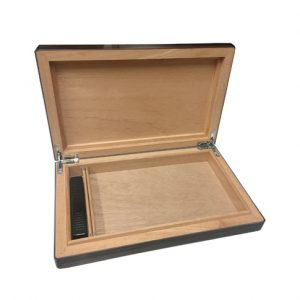 HM 810-010 Travel Humidor Ebony