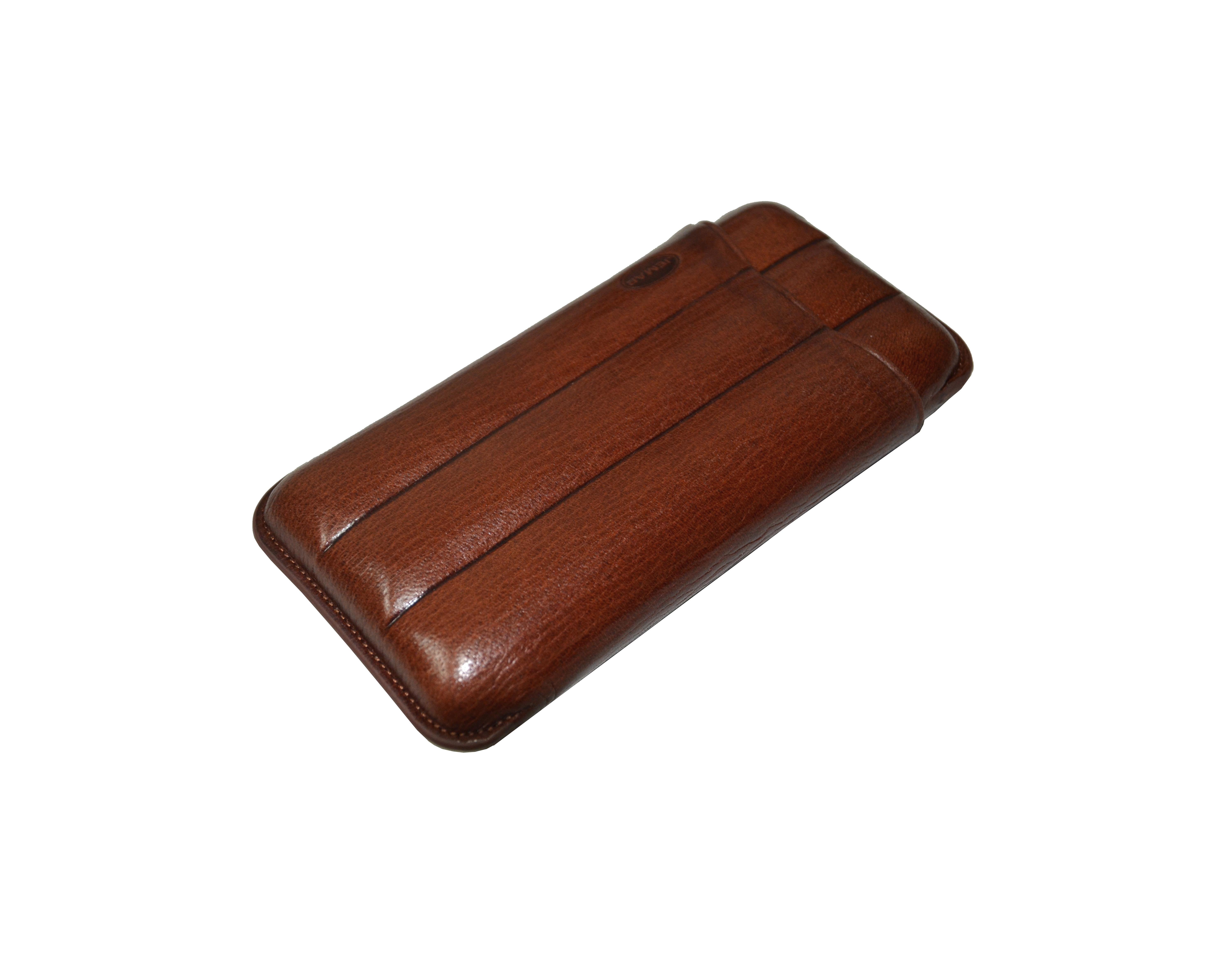Jemar 110/3 XL Marron Cigar Case