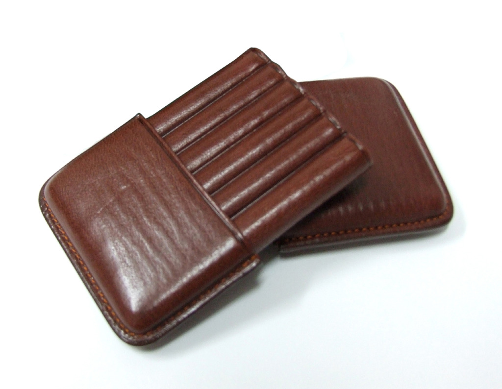 Jemar 151/10 Marron Cigar Case