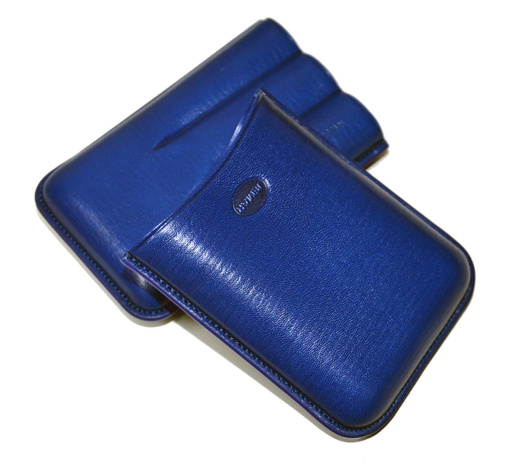 Jemar 464/3 Blue Cigar Case
