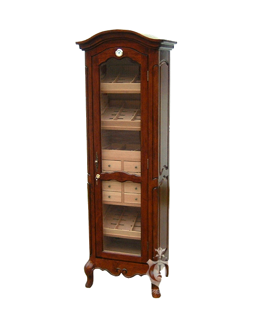 QI 2000 Antique Tower Humidor