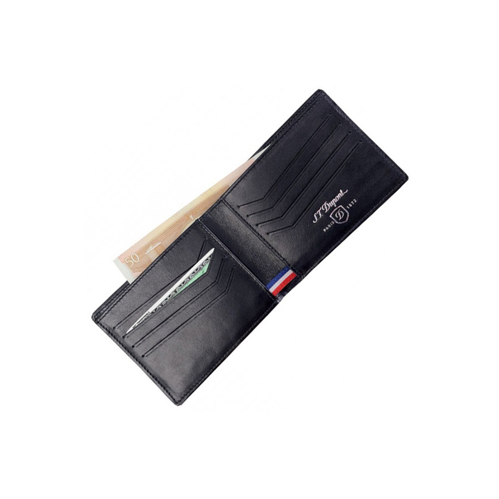 S.T. Dupont 170002 Defi Wallet 8CC Black