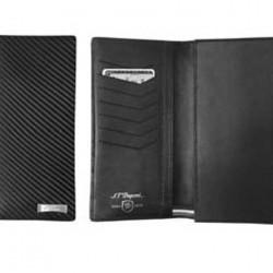 S.T. Dupont 170007 Defi Coat Wallet 7 CC Blk