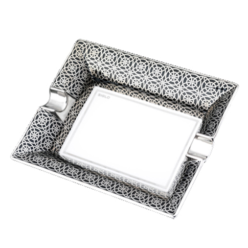 Siglo Opulent Silver Ashtray