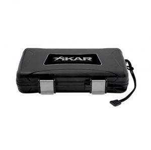 Xikar 205BLK XI - 5 Cigar Travel Humidor