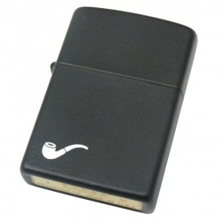 Zippo 218 Black Matt Lighter Gift Set