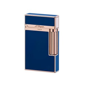 S.T. Dupont 16496 L2 Blue Chinese Lacquer Palladium Gold