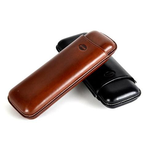 Jemar 497/2 Brown Marron Cigar Case