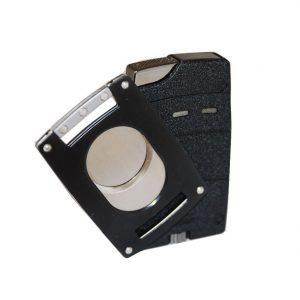 Xikar 907Blk Black Cutter & Lighter Combo