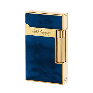 S.T. Dupont 16134 Atelier Blue Chinese Lacquer & Yellow Gold