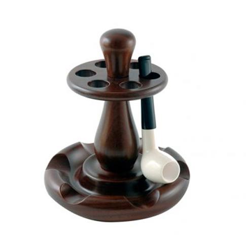 Jemar 338/6 Walnut Pipe Stand