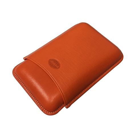 Jemar 464/3 Orange Cigar Case