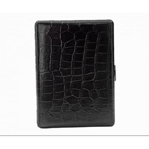 Pearl PE04927-10 Crocodile Cigarette Case