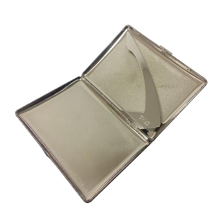 Pearl PE04927-70 Crocodile Cigarette Case