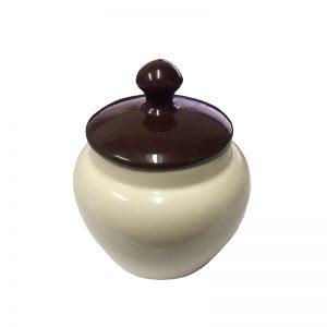 Savinelli V1003 Cream Tobacco Jar