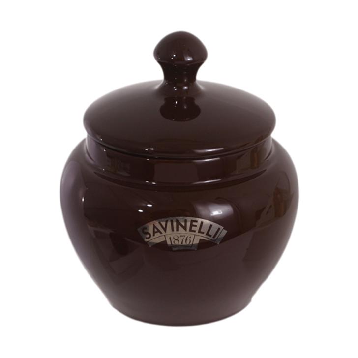 Savinelli V1003 Brown Tobacco Jar