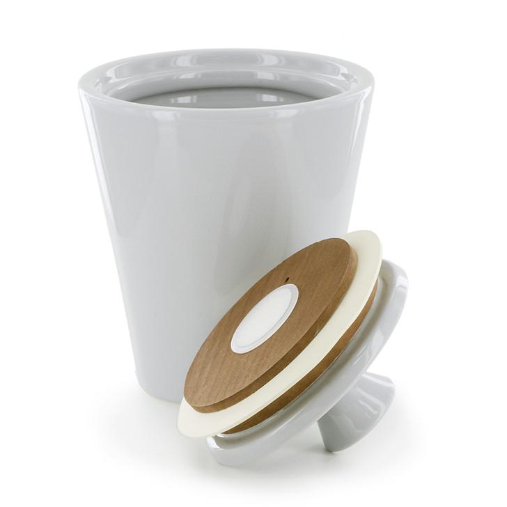 Savinelli V1025 Ceramic Jar Bianco