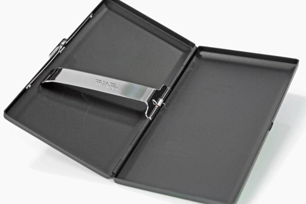 Pearl 18069-10 Black Matte Cigarette Case 6s