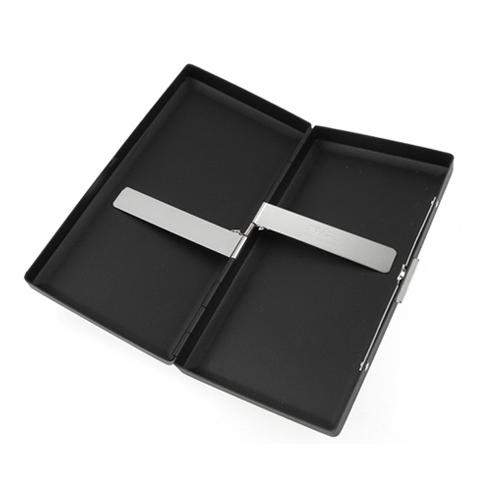 Pearl 28069-10 Black Matte Cigarette Case 12s