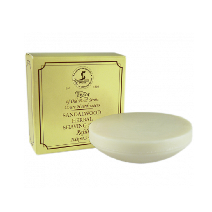 Taylor Sandalwood Herbal Soap Refill