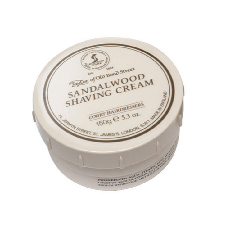 Taylor Sandalwood Shaving Cream 150g