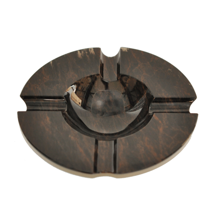 Elie Bleu Obsidienne Brown Ashtray 4s