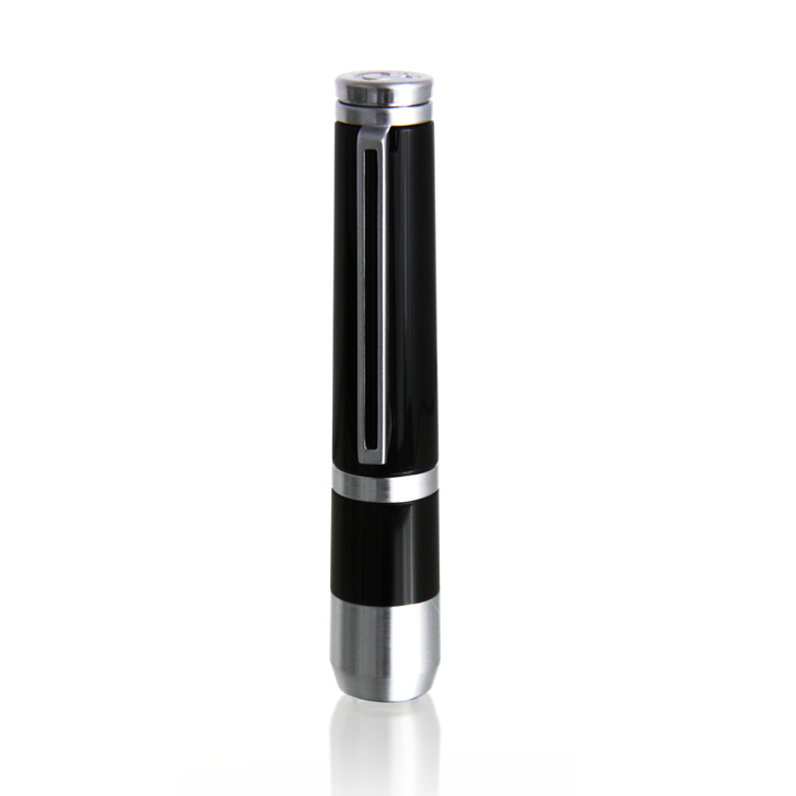 Caseti CA260-1 Black Lacquer / Chrome Cigar Punch