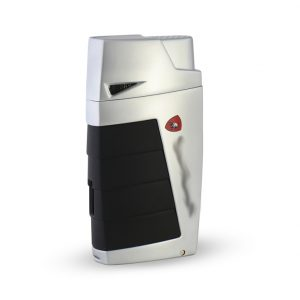 Tonino Lamborghini TTR018010 Chrome / Black Punch Lighter