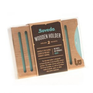Boveda Wooden Holder holds 2 packets