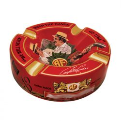 Arturo Fuente Decorated Red Ashtray