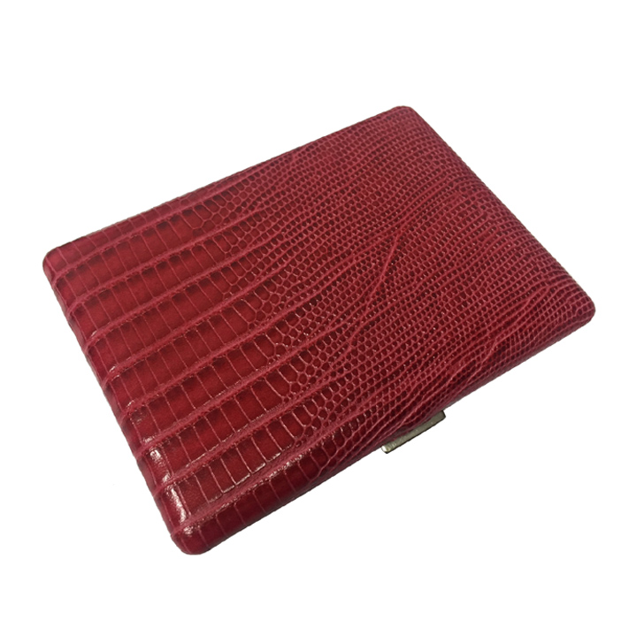 Pearl 4980-20 Lizard Embossing Cigarette Case