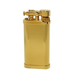 IM Corona 64-5211 Gold Plated Old Boy Pipe Lighter