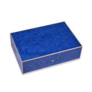 Elie Bleu Blue Madrona Burl 110