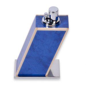 Elie Bleu Blue Madrona Burl Lighter