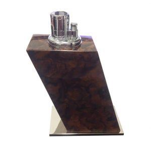 Elie Bleu Walnut Burl Lighter Large