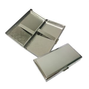 Pearl PE28941-S Silver Cigarette Case
