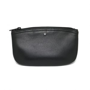Alfred Dunhill PA2003 White Spot Black Zip Pouch