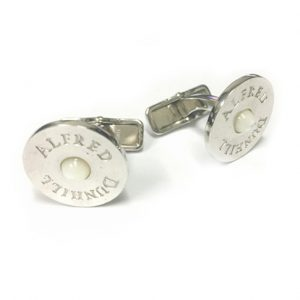 Alfred Dunhill JSY8272K SS Mother of Pearl Cufflink SALE