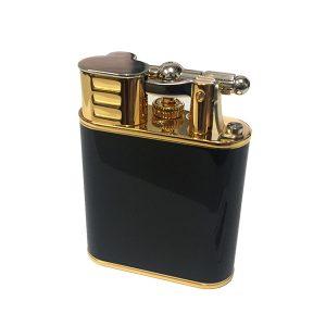 Alfred Dunhill TB Black Gold Jet Flame Lighter (RRTA051001TU)