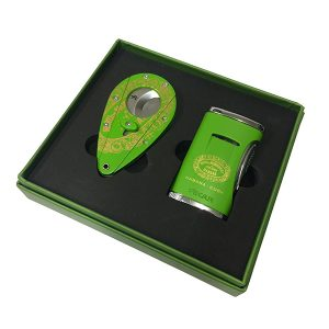 Coiba Hoyo Lighter / Cutter Set