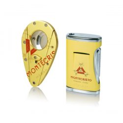 Coiba Montecristo Lighter / Cutter Set